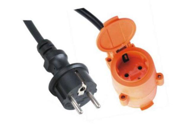 电源线插头是用什么材料